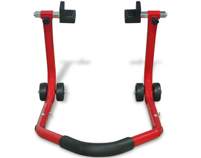 141971 Sonata Стойка за задна гума на мотоциклет, червена