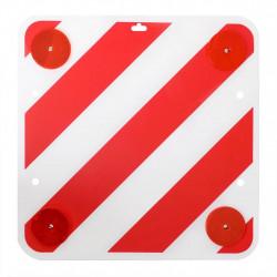 ProPlus предупредителен знак от пластмаса и светлоотражатели 50x50 см - Инструменти и Оборудване