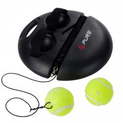 Pure2Improve Тренировъчен уред по тенис, черен, P2I100180 - Спортове на открито