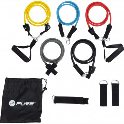 Pure2Improve Комплект фитнес ластици - Обзавеждане на Бизнес обекти