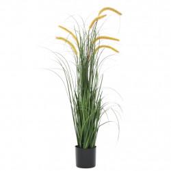 Sonata Изкуствено растение декоративна трева, папур, 110 см - Изкуствени цветя