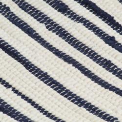 Sonata Подложки за хранене, 4 бр, синьо и бяло, 30x45 см, памук - Sonata H