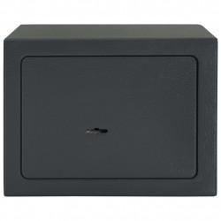 Sonata Механичен сейф, тъмносив, 23x17x17 см, стомана - Мебели от метал