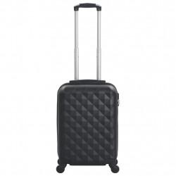 Sonata Твърд куфар с колелца, черен, ABS - Куфари и Чанти