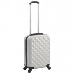 Sonata Твърд куфар с колелца, светлосребристо, ABS - Куфари и Чанти