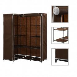 Sonata Ъглов гардероб, кафяв, 130x87x169 см - Гардероби