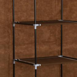 Sonata Гардероб с отделения и лостове, кафяв, 150x45x175 см, плат - Гардероби