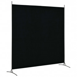 Sonata Параван за стая, 1 панел, черен, 175x180 см - Аксесоари за Всекидневна