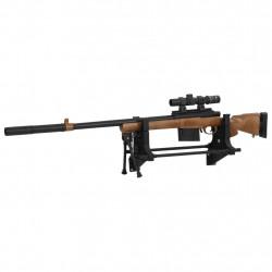 Sonata Стенд за прострелка на оръжия 40x17,5x19 см пластмаса - Обзавеждане на Бизнес обекти