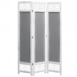 Sonata Параван за стая, 3 панела, сив, 105x165 cм, текстил - Аксесоари за Всекидневна