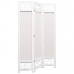 Sonata Параван за стая, 3 панела, кремав, 105x165 cм, текстил - Аксесоари за Всекидневна
