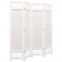 Sonata Параван за стая, 4 панела, кремав, 140x165 cм, текстил - Аксесоари за Всекидневна
