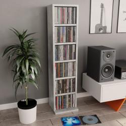 Sonata CD шкаф, бетонно сиво, 21x16x88 см, ПДЧ - ТВ Шкафове