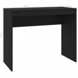 Sonata Бюро, черно, 90x40x72 см, ПДЧ - Офис Бюра