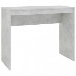 Sonata Бюро, бетонно сиво, 90x40x72 см, ПДЧ - Офис Бюра