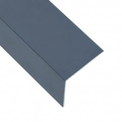 Sonata Г-образни профили 90° 5 бр алуминий антрацит 170 см 60x40 мм - Панели и Детайли