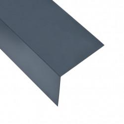 Sonata Г-образни профили 90° 5 бр алуминий антрацит 170 см 100x100 мм - Панели и Детайли