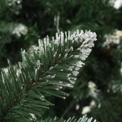 Sonata Изкуствено коледно дърво с шишарки и бели връхчета, 150 см - Сезонни и Празнични Декорации