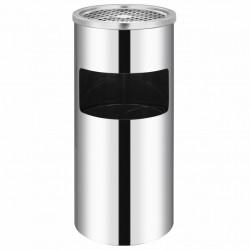Sonata Стенен кош пепелник, неръждаема стомана, 26 л - Обзавеждане на Бизнес обекти