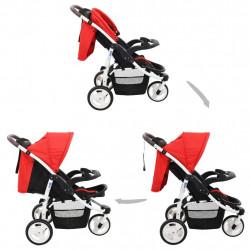 Sonata Бебешка количка триколка, червено и черно - Детски превозни средства