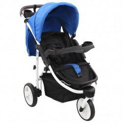 Sonata Бебешка количка триколка, синьо и черно - Детски превозни средства
