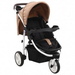 Sonata Бебешка количка триколка, таупе и черно - Детски превозни средства