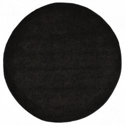 Sonata Рошав килим тип шаги, 67 см, черен - Килими, Мокети и Подложки