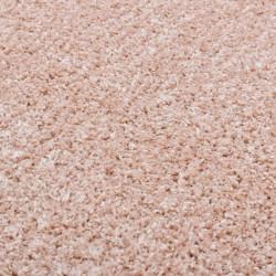 Sonata Рошав килим тип шаги, 67 см, бледорозов - Килими, Мокети и Подложки