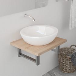 Sonata Обзавеждане за баня, дъб, 40x40x16,3 см - Шкафове за Баня