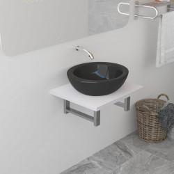 Sonata Обзавеждане за баня, бяло, 40x40x16,3 см - Шкафове за Баня
