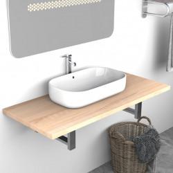 Sonata Обзавеждане за баня, дъб, 90x40x16,3 см - Шкафове за Баня