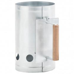 Sonata Съд за разпалване на дървени въглища, поцинкована стомана - Техника и Отопление