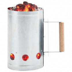 Sonata Съд за разпалване на дървени въглища, поцинкована стомана - Камини, Комини и Печки на дърва