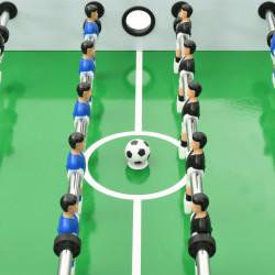 Sonata Сгъваема футболна маса, 121x61x80 см, бяла - Спортни Игри