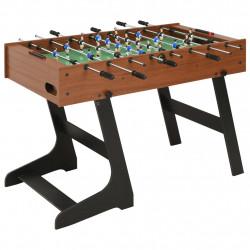 Sonata Сгъваема футболна маса, 121x61x80 см, кафява - Спортни Игри