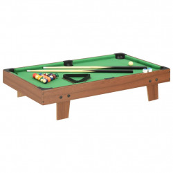 Sonata Мини билярдна маса, 3 фута, 92x52x19 см, кафява и зелена - Спортни Игри