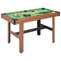 Sonata Билярдна маса, 4 фута, 122x61x76 см, кафява - Спортни Игри