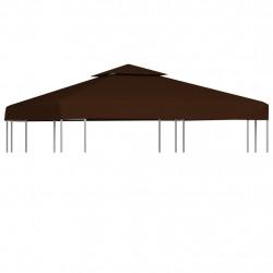 Sonata Двоен покрив за шатра, 310 г/м², 3x3 м, кафяв - Шатри и Градински бараки