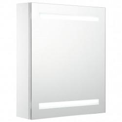 Sonata LED шкаф с огледало за баня, 50x14x60 см - Сравняване на продукти