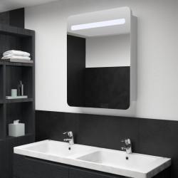 Sonata LED шкаф с огледало за баня, 60x11x80 см - Сравняване на продукти