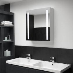 Sonata LED шкаф с огледало за баня, 62x14x60 см - Сравняване на продукти