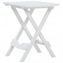 Sonata Сгъваема градинска маса, 45,5x38,5x50 см, бяла - Градински маси
