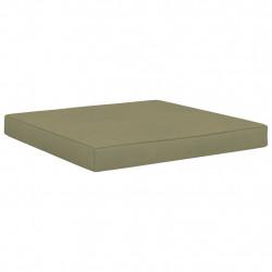 Sonata Палетна възглавница за под, 60x61,5x6 см, бежова, плат - Мека мебел