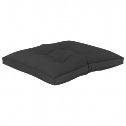 Sonata Палетна възглавница за под, 60x61x10 см, черна - Мека мебел