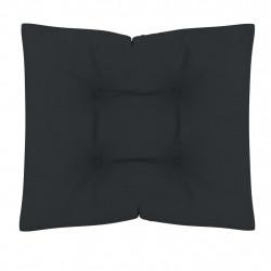 Sonata Палетна възглавница за под, 60x61x10 см, антрацит - Мека мебел