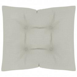 Sonata Палетна възглавница за под, 60x61x10 см, бежова - Мека мебел