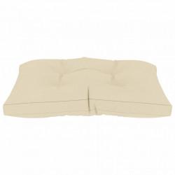 Sonata Палетна възглавница за под, 60x61x10 см, кремава - Мека мебел