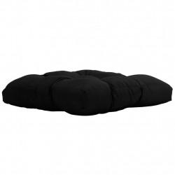 Sonata Градинска възглавница за сядане, черна, 50x50x10 см, текстил - Мека мебел