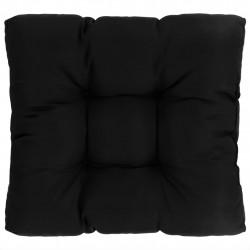 Sonata Градинска възглавница за сядане, черна, 60x60x10 см, текстил - Мека мебел