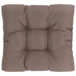 Sonata Градинска възглавница за сядане, таупе, 60x60x10 см, текстил - Мека мебел